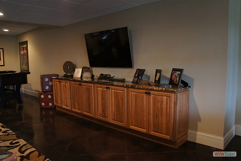 Gameroom Custom Cabinets